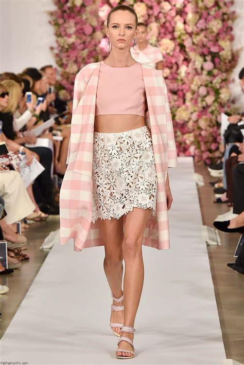 New York Fashion Week Oscar De La Renta oscar de la renta summer 2015 collection new york