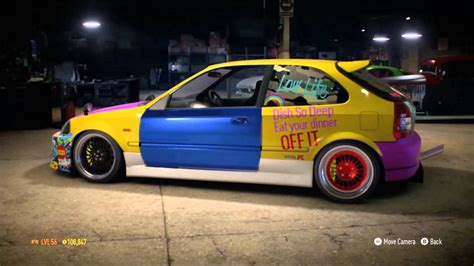 non ricer honda nfs honda civic rat or rice need for speed 2015