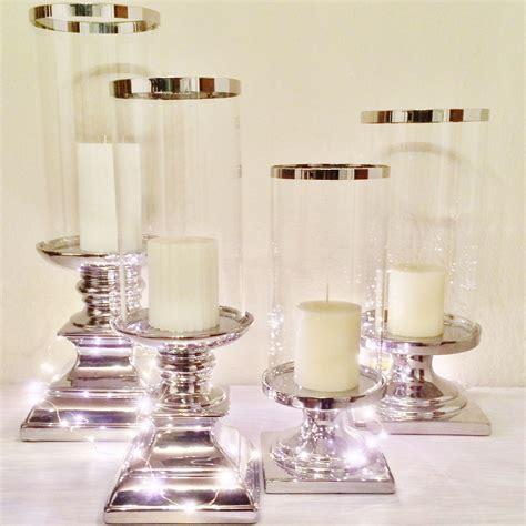 kerzenständer silber set ceramic candlesticks candle stand candlestick lantern