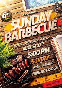 ffflyer summer flyer barbecue bbq party flyer template