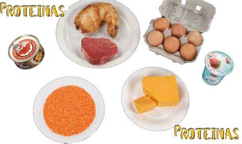 alimentos tienen proteinas