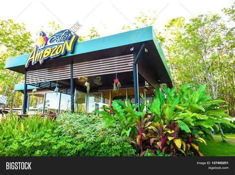 amazon thailand ranong thailand may 9 cafe amazon beverage shop at