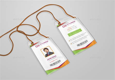 Volunteer Id Card Template Psd by Multipurpose Business Id Card Template By Dotnpix