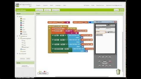 tutorial video maker app app inventor 2 tutorial using two screens and