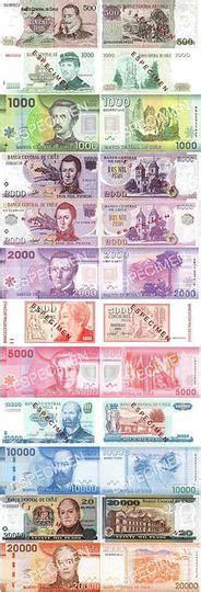Billetes de pesos chilenos en circulación  Foro de Chile en Tripadvisor
