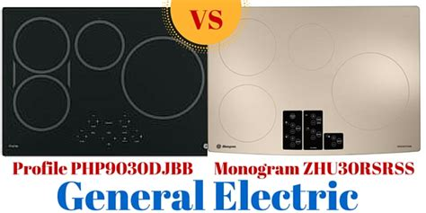 electric induction vs magnetic induction ge monogram zhu30rsrss vs ge profile php9030djbb php9030sjss 30 general electric induction