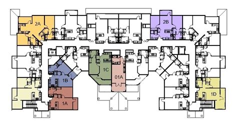 nursing home floor plan layout