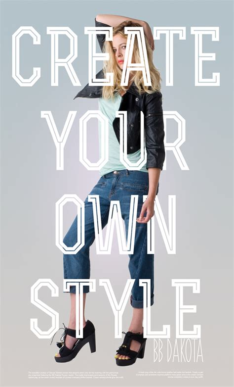 fashion posters on behance