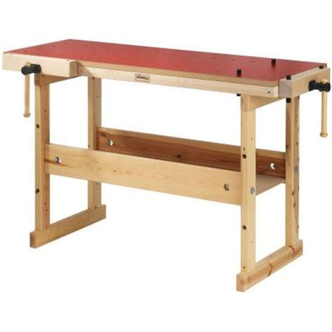work benches home depot sjobergs hobby plus 4 ft workbench sjo 33282 the home depot