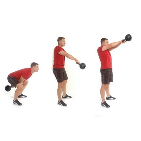 kettlebell squat swing burn 400 calories in 20 minutes with these 5 kettlebell