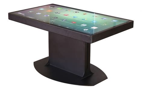 Smart Table by Ideum S Duet Smart Table Runs Both Windows 8 And Android