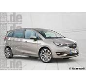 2017 Opel Meriva Early Launch  Rendering