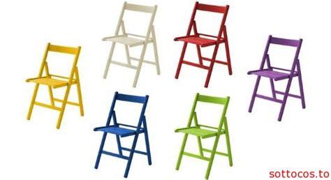sedie pieghevoli colorate sedie pieghevoli in legno da 39 90euro sottocos to