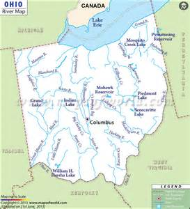 Description ohio consists of many rivers like auglaize river great