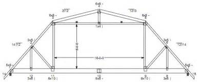 hip roof barn plans pics photos shed roof truss plans pictures