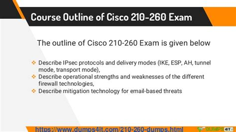 Cisco Course Outline by Up To Date 210 260 Cisco Ccna Security Questions For Guaranteed