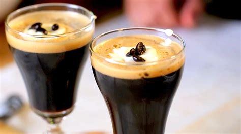 Thai Mixed Coffee By Lason stout coffee cocktail