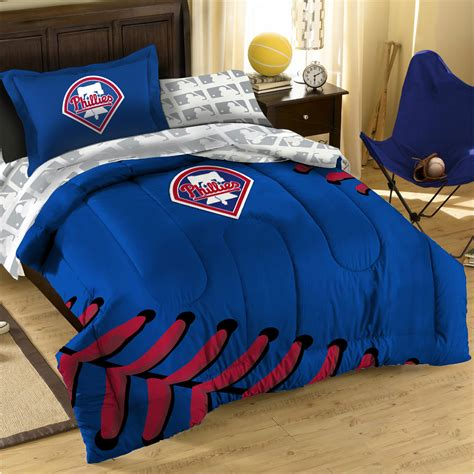 baseball bedding twin mlb phillies comforter set 3pc philadelphia baseball