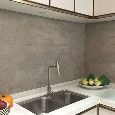 large tile kitchen backsplash grey effect large format porcelain tiles