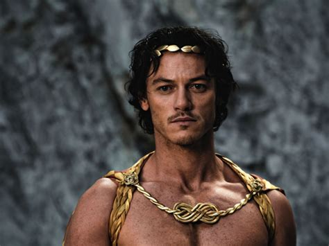 film zeus being the bard interview with luke evans