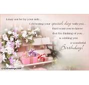 Beautiful And Warm Birthday Card For Your Loved One When You Are Not