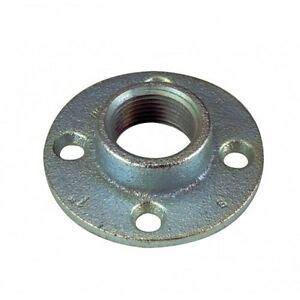 orbit fr  malleable iron rigid floor flange