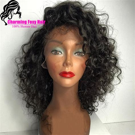 are there any full wigs made from human kinky hair that is styled in a two strand twist for black woman popular custom made human hair wigs buy cheap custom made