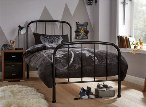 metal beds for westbrook single bed frame black dreams