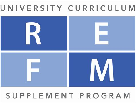 supplement program refm curriculum supplement program real