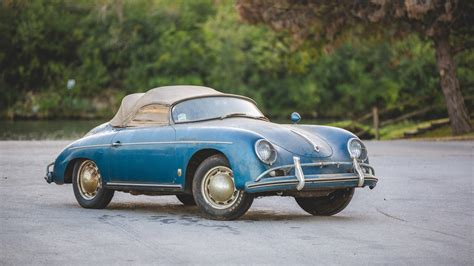 porsche speedster 1957 porsche 356 speedster heads to auction