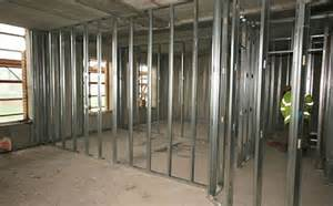 Basement Drywall Installation by Tips On How To Install Metal Studs Be The Pro