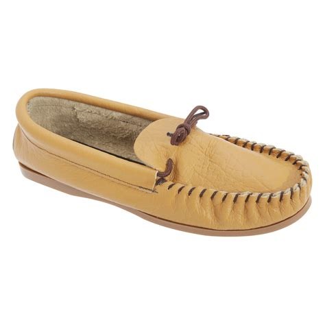mens leather moccasin slippers mokkers mens gordon softie leather moccasin slippers ebay