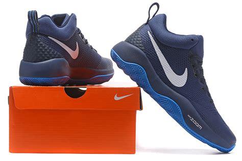 nike casual basketball shoes high quality nike hyperrev 2017 black blue white