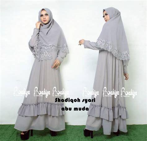 Pusat Grosir Baju Muslim Zarra Syari Balotelly shadiqoh syar i abu muda baju muslim gamis modern