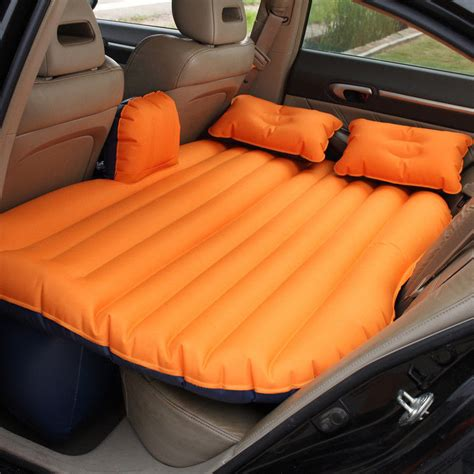 inflatable bed for car pvc inflatable car travel car mattress inflatable car air bed