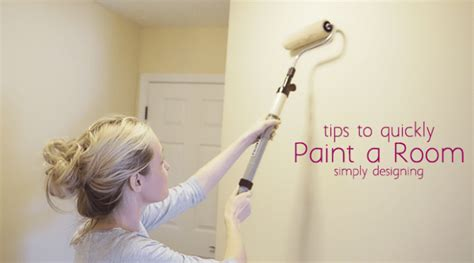 House Designing Quickly Paint A Room In Your Home Here S How To Paint A
