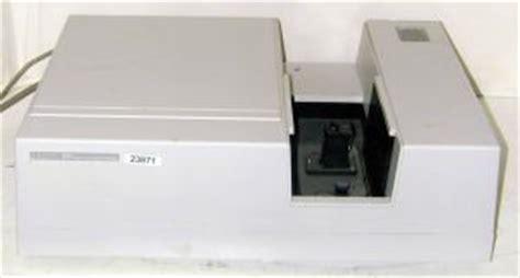 hp 8452a diode array spectrophotometer hewlett packard 8452a diode array spectrophotometer labequip