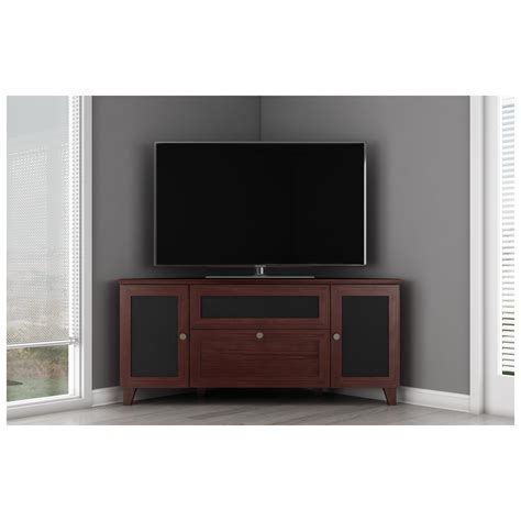 furnitech ft61sccdc 61 quot tv stand shaker corner media