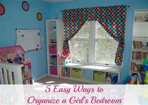 how to organize a bedroom 5 easy ways to organize a s bedroom organize 365