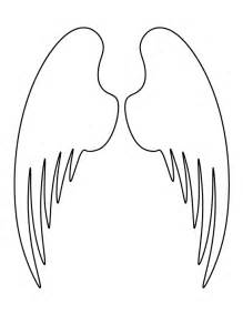 wing template printable wings template