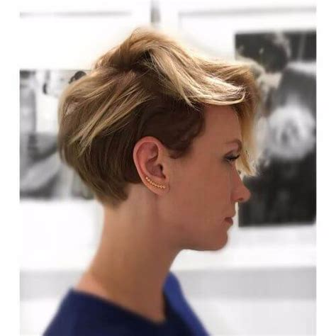 pixie cuts cherry brown and blonde 45 blonde highlights ideas for all hair types and colors