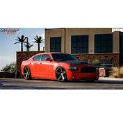 Dodge Charger Dub Baller  S116 Wheels Black &amp Machined