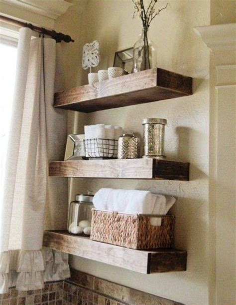 Decorating Ideas For Bathroom Shelves Small Wooden Shelves Bathroom With Wonderful Inspirational In Spain Eyagci