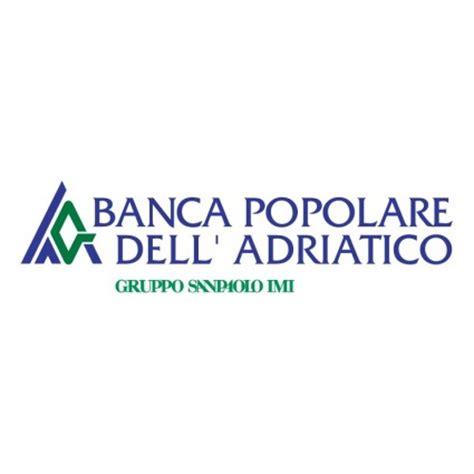 bance dell adriatico banca popolare dell adriatico pesaro vector logo free