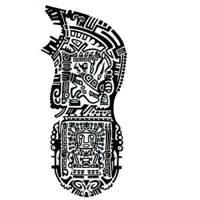 aztec armband tattoo designs aztec armband designs yin yang koi avatar aztec