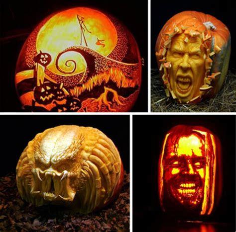 creative carving  bright  beautiful jack  lanterns