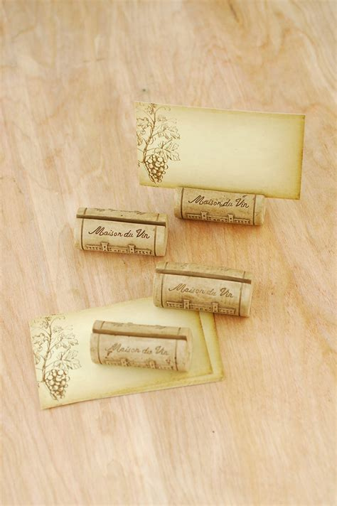 Place Card Holder Corks (Set of 4)