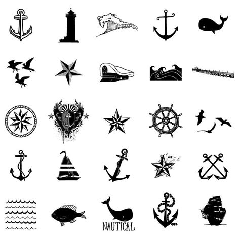 small nautical tattoos 1000 ideas about nautical tattoos on