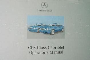 auto repair manual online 2002 mercedes benz clk class parental controls 2002 mercedes benz clk class cabriolet factory owner s manual portfolio