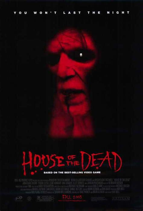 House Of The Dead 2003 by House Of The Dead Posters From Poster Shop